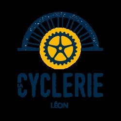 logo location de vélo à Léon, La Cyclerie.