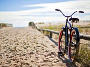 Vélo au courant d'hûchet